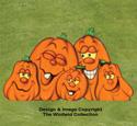 Large Pumpkin Patch Color Poster
