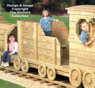 Coal Car Play Structure Plans
