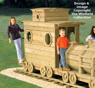 Caboose Play Structure Plans