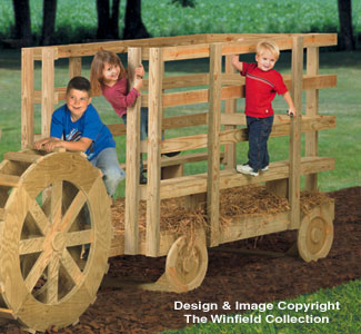 Hay Wagon Play Structure Plans
