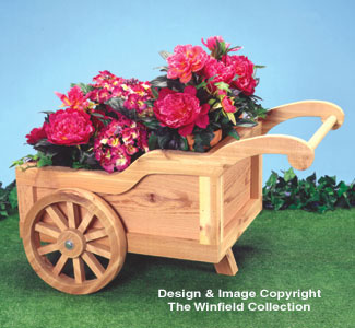 All yard garden projects peddlers cart planter wood pattern - Peddlers home design ...