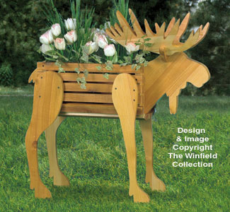 Planter Woodworking Plans Moose Planter Wood Pattern