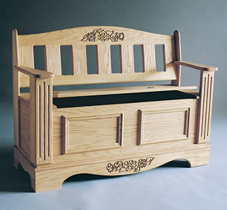Blanket Chest & Seat Wood Plans