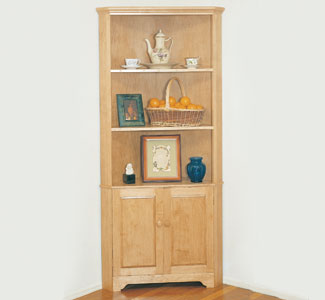Corner Cabinet Wood Plans