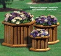 Landscape Timber Planter Trio Wood Plan