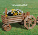 Landscape Timber Tractor Planter Pattern