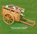 Cedar Cart Planter Woodworking Pattern