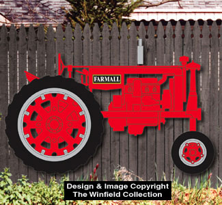 Wood Patterns - Large Farmall Tractor Woodcraft Pattern