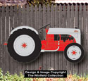 Large Ford Tractor  Woodcraft Pattern