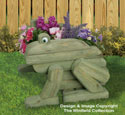 Landscape Timber Frog Planter Plans