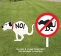 Doggie NO-GO Signs Woodcraft Pattern
