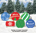 Large Ornaments #1 Color Poster