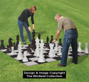 Medium Yard Chess & Checkers Plan