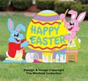 Easter Teamwork Color Poster