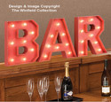 Marquee Bar Sign Pattern