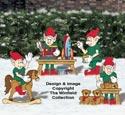 Toy Making Elves Woodcraft Pattern