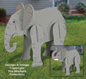 Lucky Yard Elephant Pattern