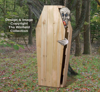 Other Halloween - Halloween Coffin Plan