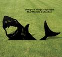 Yard Shark Shadow Woodcraft Pattern