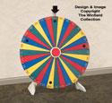Spinning Prize Wheel Pattern