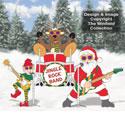 Jingle Rock Band Pattern