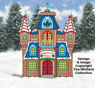 Gingerbread Palace Woodcraft Pattern