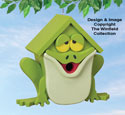 Bullfrog Birdhouse Pattern
