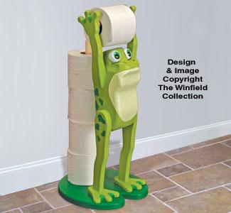 Frog Bathroom Buddy Pattern