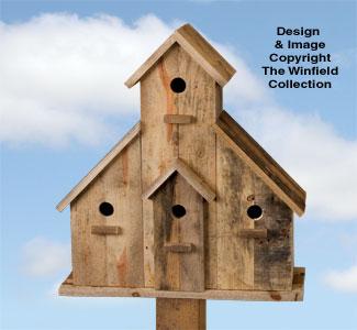 All Bird Project Plans Patterns Pallet Wood Birdhouse