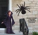 Huge Spooky Spider Pattern