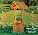 Decorative Wishing Well Wood Plans