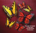 Giant Yard Butterflies Wood Pattern