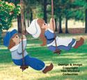 Swingin' Dutch Kids Woodcraft Pattern