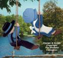 Swingin' Amish Kids Woodcraft Pattern