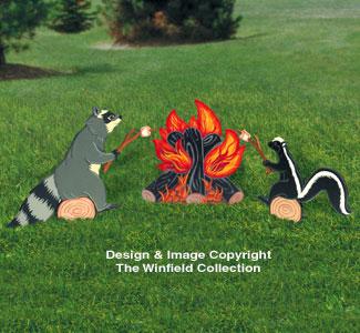 Campfire Coon & Skunk Patterns