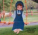 Swingin' Girl Woodcraft Pattern