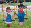 Swingin' Kids Woodcraft Pattern