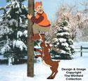 Hunter & Deer Woodcraft Pattern