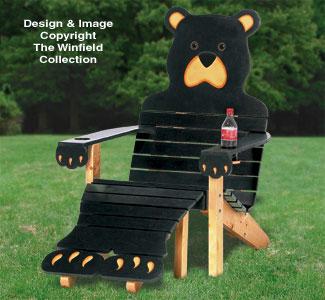 Adirondack Furniture Plans Bear Adirondack Chair Wood Plans