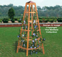 Garden Obelisk Woodworking Plan