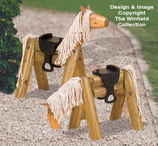 All Yard Amp Garden Projects Landscape Timber Horse