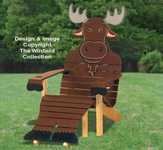 Merveilleux Moose Adirondack Chair Plans