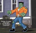 Giant Frankenstein Color Poster