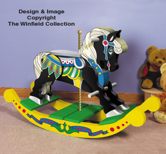 Carousel Rocking Horse Plan