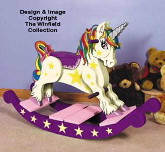 Unicorn Rocking Horse Plan