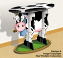 Cow Wow!  Table Pattern