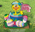 Hatch A Happy Easter Color Poster