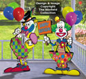 Birthday Clowns Pattern