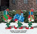 North Pole Delivery Elves Pattern