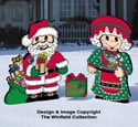 Dress-Up Darlings Santa & Mrs. Claus Outfits Pattern